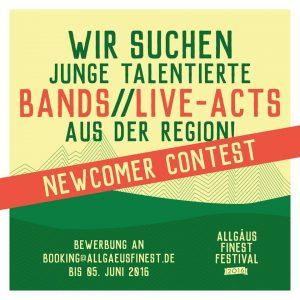 Allgäus Finest 2016 Newcomer Contest