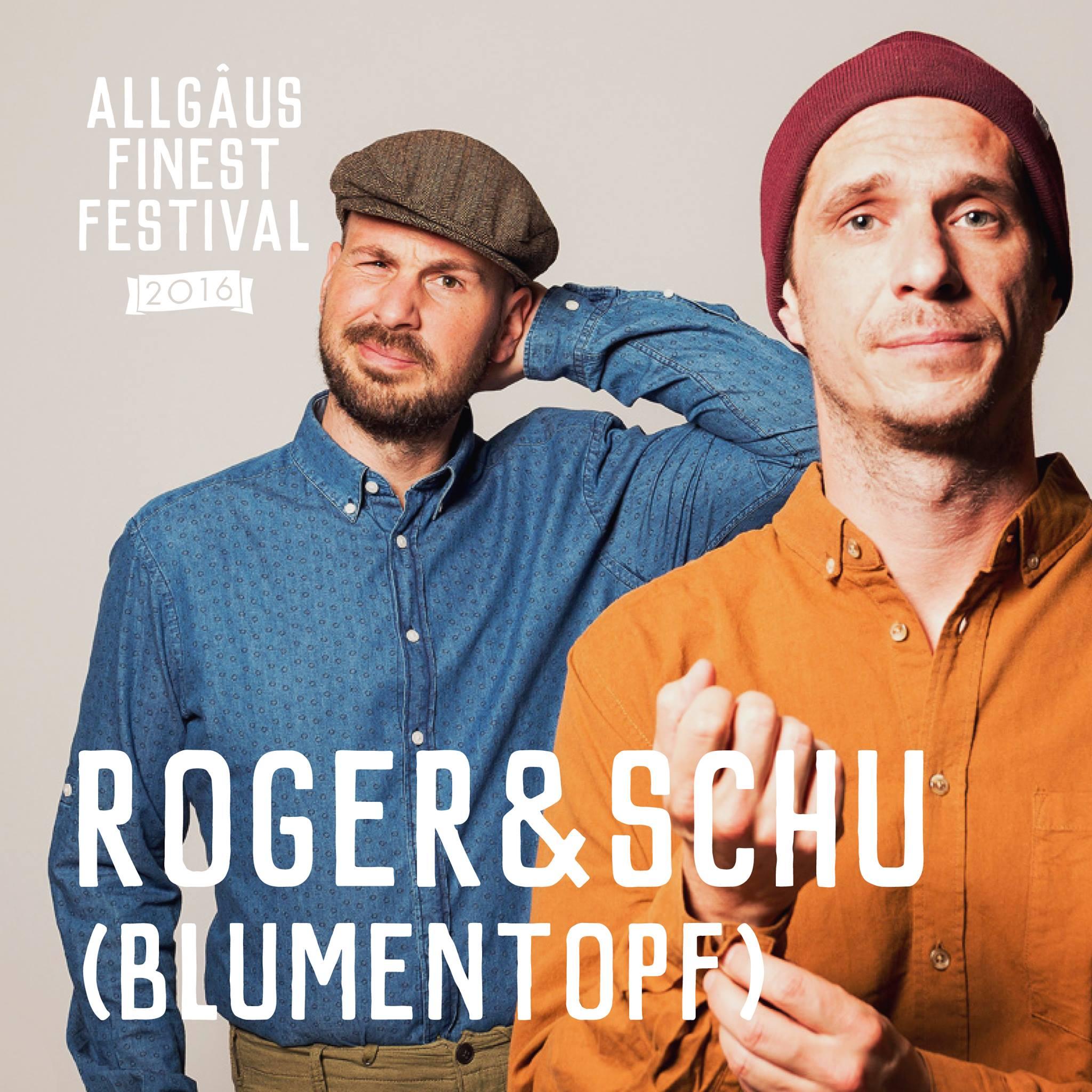 Line-UP Roger und Schu